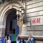 Photo taken at H&M by Andrey M. on 5/4/2013