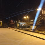 Photo taken at LIRR - Medford Station by Mikel K. on 1/2/2014