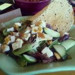 Photo taken at SuperFood Cafe by Sarah J. on 10/19/2012