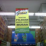 Photo taken at Giant Hypermarket by Sandra L. on 6/27/2012