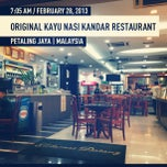 Photo taken at Original Kayu Nasi Kandar Restaurant by Alarmist W. on 2/27/2013
