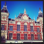 Photo taken at Station Amsterdam Centraal by trish t. on 4/1/2013