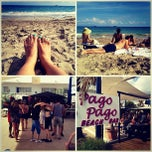 Photo taken at Pago Pago beach bar by Kazz C. on 10/12/2013