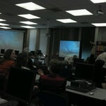 Photo taken at Library Presentation Room 028 by Ali S. on 5/17/2013