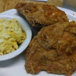 Photo taken at Connie & Barbara's Soul Food by Graham D. on 2/15/2014