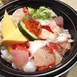 Photo taken at Takeya Sushi by Mimo S. on 10/26/2014