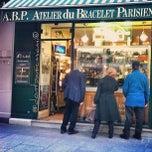 Photo taken at Atelier du Bracelet Parisien by Don't Panic M. on 3/9/2013