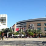 Photo taken at Toyota Center by Anton S. on 2/16/2013