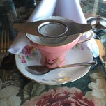 Photo taken at Elizabeth & Alexander's English  Tea Room by Errin P. on 7/1/2013