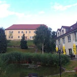 Photo taken at Hotel Am Schloss by Streipo F. on 8/4/2013