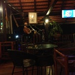 Photo taken at Smile Boat Beer Garden Pub & Restaurant by Zax H. on 7/27/2014