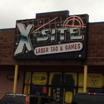 Photo taken at X-site Laser Tag & Games by Jennifer S. on 10/5/2013