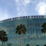 Photo taken at Amalie Arena by Trisha on 2/19/2013