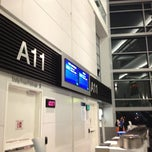 Photo taken at Gate A11 by Eric A. on 10/11/2012