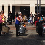 Photo taken at Place du Marché by Kathleen on 10/11/2014