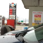 Photo taken at Kroger Gas by Jay S. on 12/20/2012