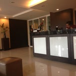 Photo taken at Sinsuvarn Airport Suite by alisha azzahra on 1/7/2013
