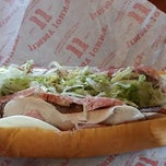 Photo taken at Jimmy John's by Curtis S. on 2/15/2014