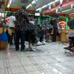 Photo taken at Arising Barber shop (Newman) by Javy F. on 8/16/2013