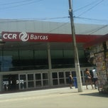 Photo taken at CCR Barcas - Estação Araribóia by Maicon A. on 11/3/2013