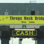 Photo taken at Throgs Neck Bridge Toll Plaza by Ray S. on 11/25/2012