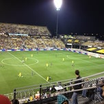 Photo taken at Columbus Crew Stadium by Pinar D. on 9/30/2012