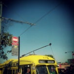 Photo taken at North Point & Jones Muni Stop by Johannes E. on 9/19/2012