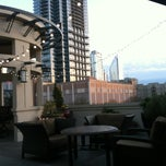 Photo taken at Rooftop Terrace At Post Uptown Place by Beth on 3/30/2013