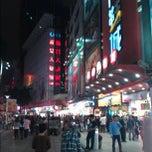 Photo taken at 东门步行街 Dongmen Pedestrian Zone by William K. on 11/16/2012