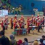 Photo taken at GOR Pajajaran by Ismet Mufti H. on 6/6/2013