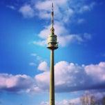 Photo taken at Donauturm by Natasha S. on 3/5/2013
