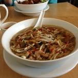 Photo taken at Han Noodle Bar by Scott B. on 2/9/2013