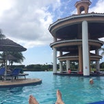 Photo taken at Infinity Pool by Natalie P. on 12/26/2013