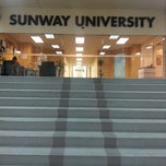 Photo taken at Sunway University by Ahfa M. on 12/27/2012