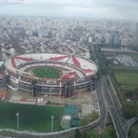 Photo taken at Estadio Monumental (River Plate) by Juanma R. on 6/8/2013