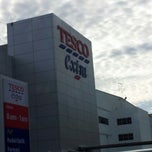 Photo taken at Tesco Extra by ajak azam k. on 10/8/2012