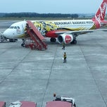 Photo taken at Senai International Airport (JHB) by Harris N. on 4/11/2013