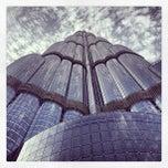Photo taken at Burj Khalifa by Kaleel R. on 7/15/2013