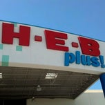 Photo taken at H-E-B plus! by Michael A. on 4/21/2012