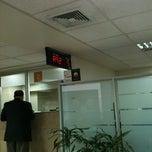 Photo taken at BancoEstado by Rodrigo B. on 9/4/2012