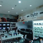 Photo taken at Ibyte by Cristyam O. on 12/28/2011