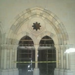 Photo taken at New Clairvaux Abbey by @Jhoggie on 9/28/2011