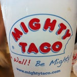 Photo taken at Mighty Taco by RAPH™ on 98 PXY on 7/17/2012