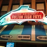 Photo taken at (The Original) Fulton Fish Frye by Ann-Margaret M. on 3/19/2012