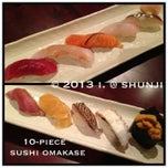 Photo taken at Shunji Japanese Cuisine by i 💕 on 4/7/2013