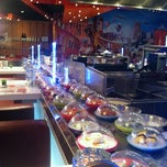 Photo taken at Yo! Sushi by Chris G. on 10/17/2012