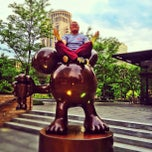 Photo taken at Citygarden by Ilya on 5/17/2013