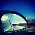 Photo taken at Autoroute Casablanca - Rabat by Mohamed-Anass F. on 11/16/2013