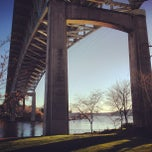 Photo taken at Ship Canal Bridge by RAY T. on 2/16/2013