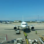 Photo taken at Gate 40 by Cindy L. on 5/23/2013